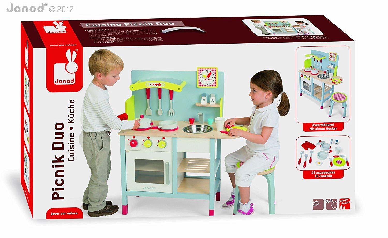 Janod  4506538  Cuisine jouet  Picnik Duo  Taboure ~ Cuisine Janod Bois