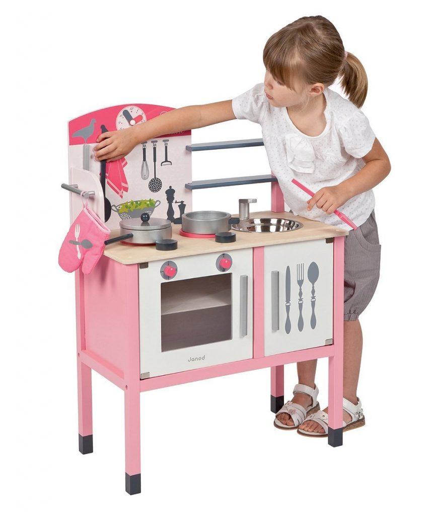 Promotion Cuisine Janod – J06533 – Maxi Cuisine Bois pour enfant