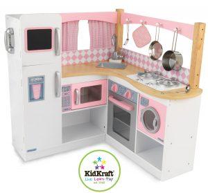 Cuisine jouet en bois Kidkraft cuisine de gastronome enfant