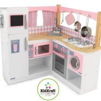 Cuisine  pour enfant KidKraft - 53185 - Jeu d'imitation - Coin Cuisine de Gastronome