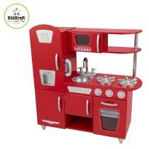 Kidkraft - 53173 - Jeu d'imitation - Cuisine Vintage Rouge