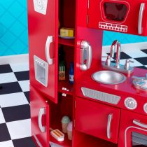Kidkraft - 53173 - cuisine jouet en bois - le frigo