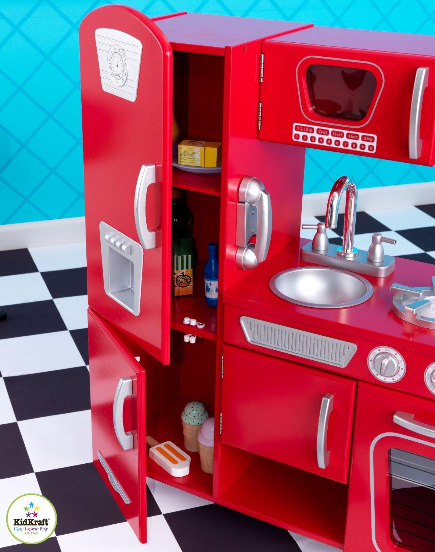 Test Cuisine Enfant Kidkraft 53173 Cuisine Dimitation Vintage