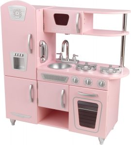Cuisine jouet en bois Kidkraft vintage rose