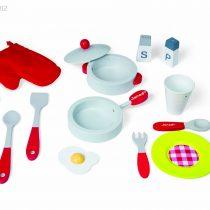 janod 4506538 cuisine jouet picnik duo tabouret accessoires cuisine enfant en bois. Black Bedroom Furniture Sets. Home Design Ideas