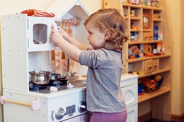 Meilleure cuisine jouet d'imitation en bois
