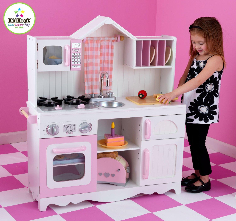 Test Cuisine Enfant Kidkraft 53222 Cuisine Campagnarde Moderne